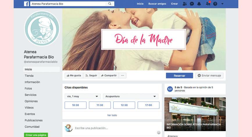 diseño cabecera facebook día de la madre